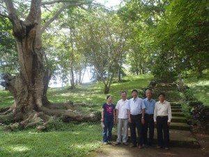 Khu công viên Cao su Long Khanh, Suối Tre.