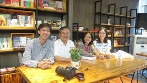 Từ trái: Lê Thành Tân, ĐHNgọc, Lê Kiều Chinh, Mai Ngọc Thành Ngân